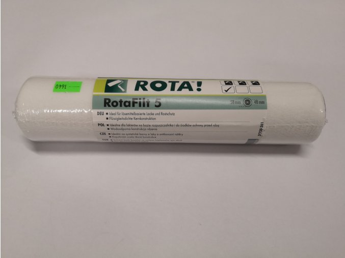 Lakovací váleček ROTA Filt 25cm