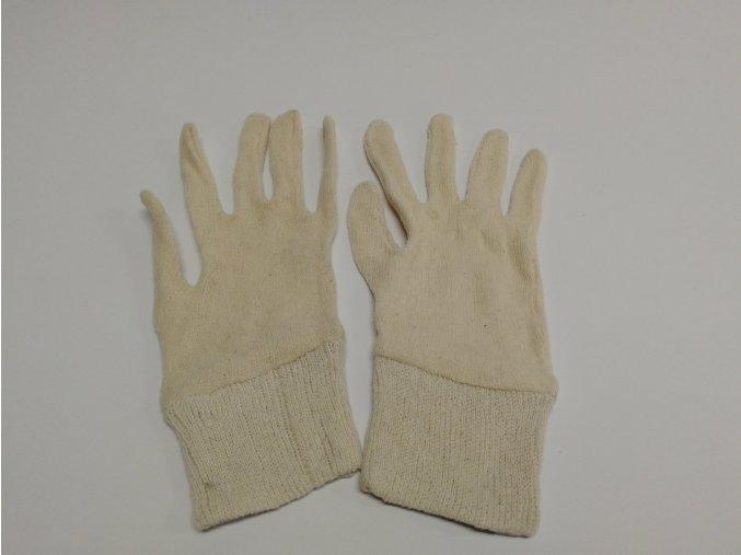 Pracovní rukavice - úpletové jednorázové (pár)