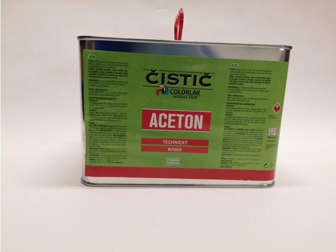 Aceton technický (COLORLAK) 4L