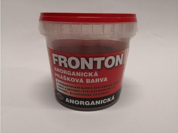 Fronton prášková barva 0261 hnědá stř. 0,8kg