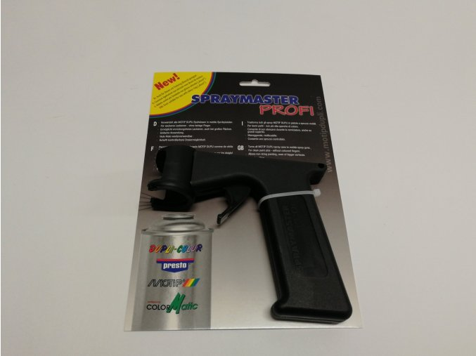 Pistole na spreje MOTIP, plast