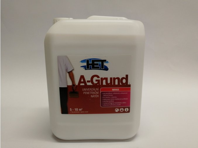 Penetrace A-Grund  5kg, HET