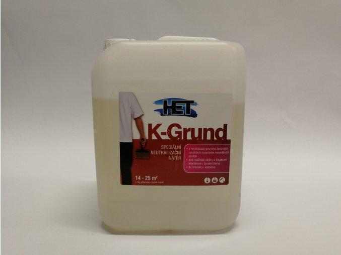 Penetrace K-Grund 5L, HET