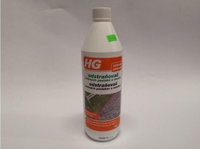 HG Odstraňovač mechu a zelených povlaků 1L