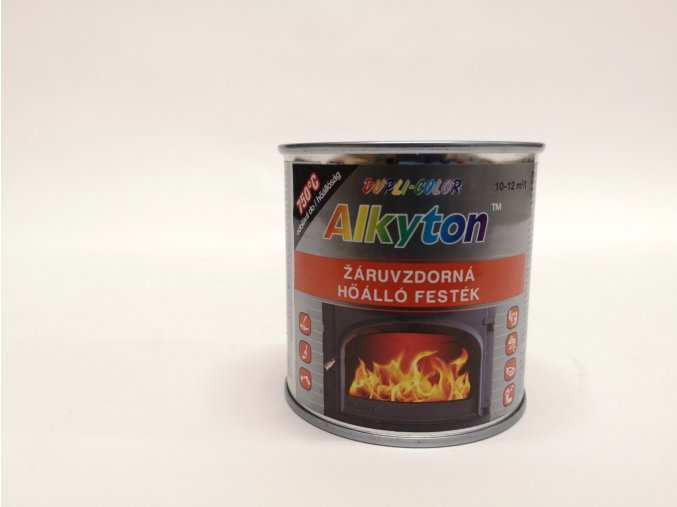 ALKYTON - žáruvzdorný,černý 0,25L