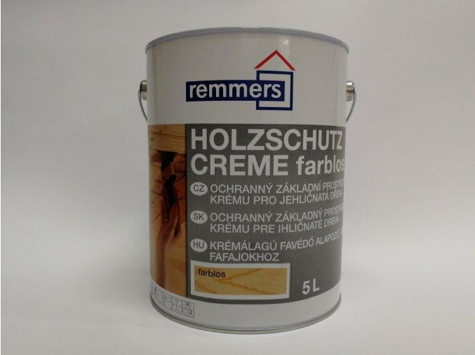 Remmers - Holzschutz-Creme 5L farblos