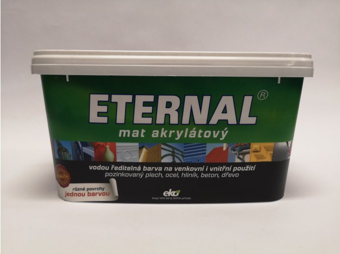 ETERNAL MAT AKRYLÁT 03 stř.šedá 5kg