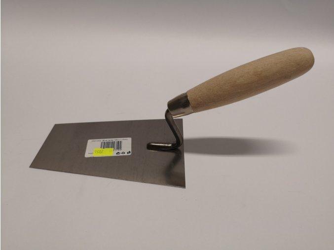 Lžíce stavební omítací nerez 160mm