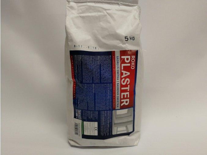 ROKOPLASTER 5kg, sádrová omítka