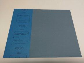 Smirkový papír arch 3000 pod vodu