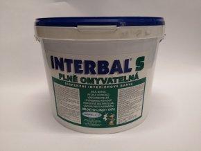 Interbal S - bílá 10kg