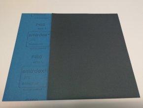 Smirkový papír arch  400 pod vodu