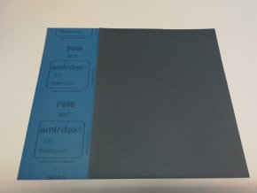 Smirkový papír arch  800 pod vodu