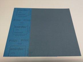 Smirkový papír arch 1500 pod vodu