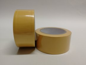 Páska UV 50mm x 33m, PVC - žlutá