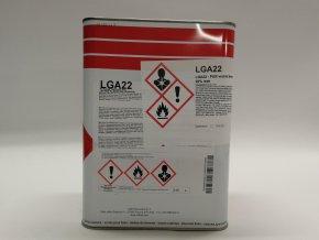 Lak LGA 22/5 *5*L vrchní lak transparentní, polyuretan
