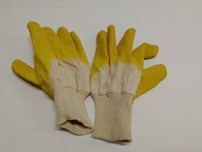Pracovní rukavice - DETA, polomáčené v latexu (pár)