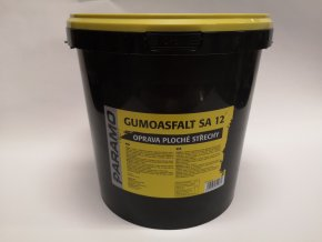 Gumoasfalt SA12 černý 10kg
