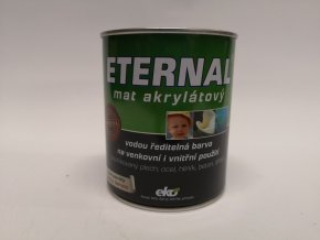 ETERNAL MAT AKRYLÁT 01 bílý 0,7kg