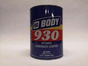 BODY 930 5kg antikorozní hmota na podvozky