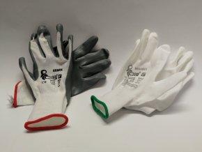 Pracovní rukavice - BUNTING,BRITTA,SOLO,ABRAK  (pár)
