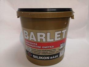 Fasádní omítka Barlet Silikon  base zrnitá 25kg