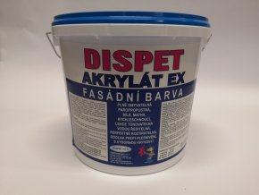 Fasádní barva Dispet akryl.EX (0100)  5kg