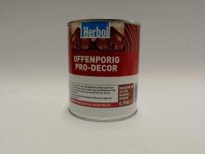Herbol-Offenporig  pro-decor 0,75L mahagon