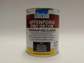 Herbol-Offenporig  pro-decor 0,75L palisandr