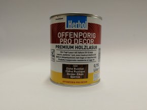 Herbol-Offenporig  pro-decor 0,75L rustikální dub