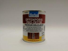 Herbol-Offenporig  pro-decor 0,75L vlašský ořech