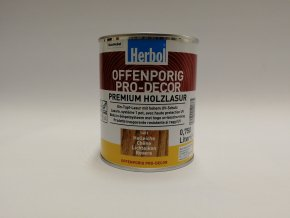 Herbol-Offenporig  pro-decor 0,75L světlý dub