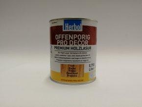 Herbol-Offenporig  pro-decor 0,75L jasan