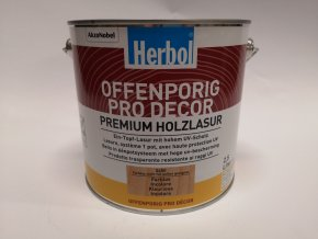 Herbol-Offenporig  pro-decor 2,5L kaštan