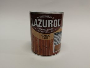 LAZUROL classic S-1023 ořech 0021 0,75l