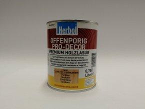 Herbol-Offenporig pro-dekor 0,75L bezbarvý