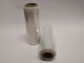 Folie strečová š.250mm x 1kg/370g transparentní