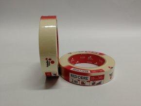 Páska papírová 25mm x 50m (do 80´C)