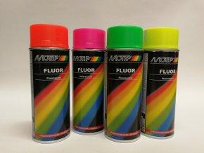 Sprej Motip fluorescentní 400ml