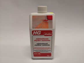 HG Odstraňovač zbytků cementu 1L