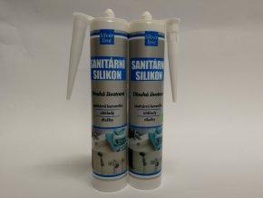 TMEL silikon sanitární,transparent/bílý 310ml(SILVER)