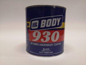 BODY 930 2,5kg antikorozní hmota na podvozky