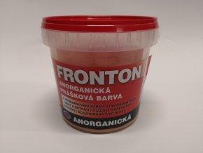 Fronton prášková barva 0731 červ.cihlová 0,8kg