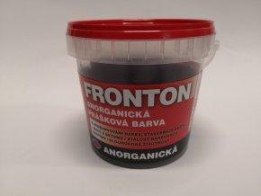 Fronton prášková barva 0281 hněď tm. 4kg