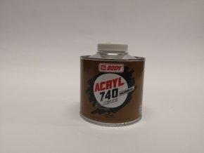 BODY ACRYL 740 0,5L akrylátové ředidlo