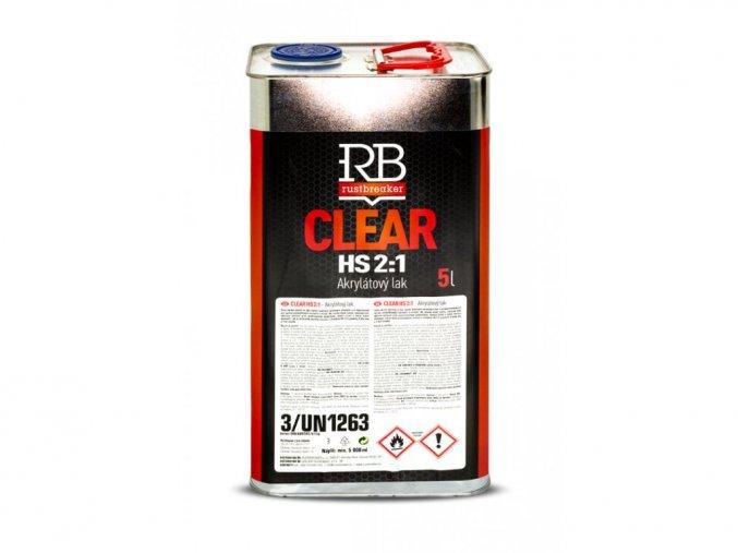 RB - Bezbarvý lak HS New Formula 5L