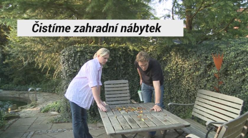 Videonávod na údržbu zahradního nábytku