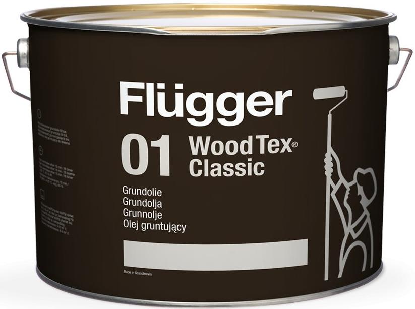 Flügger WOOD TEX® CLASSIC 01 OIL PRIMER - dříve 90 CLASSIC (Aklydový penetrační olej)
