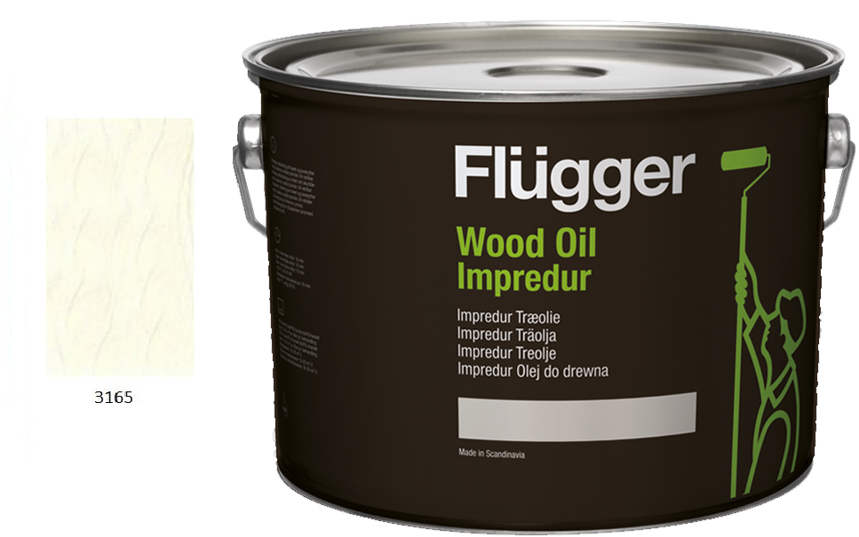 Flügger WOOD OIL IMPREDUR COLOR - dříve IMPREDUR NANO OLEJ COLOR (nové odstíny)