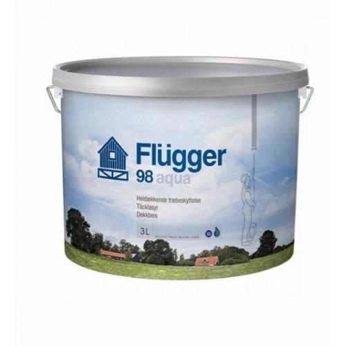 Flügger 98 Aqua - lazurovací lak (odstíny RAL)